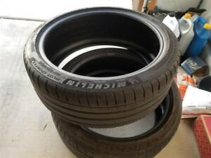 2 Used Tires Michelin Pilot Sport 4s 225 40 19 225 40 19
