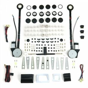 2 Door Universal Power Window Kit With 3 Illuminated Switches Pw4650