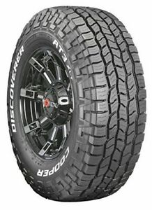 Set Of 4 Cooper Discoverer A T3 Xlt All Terrain Tires Lt275 70r18 125s 10ply