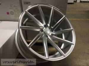 19 Silver Swirl Style Staggered Wheels Rims Fits Lexus Is Is300 Is250 Is350