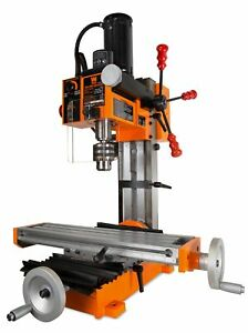 Wen 4 5a Variable Speed Single Phase Compact Benchtop Milling Machine 45 Degree