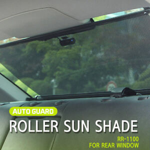 Retractable Car Sun Shade Visor Rear Window Roller Blind Rr 1100 For All Car