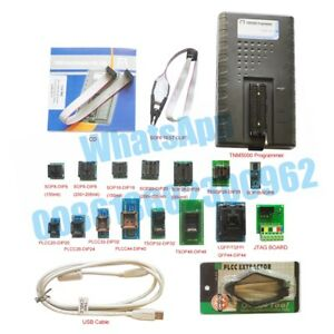Tnm5000 Usb Eprom Programmer Flash Memory Recorder 15pc Socket support Laptop Io