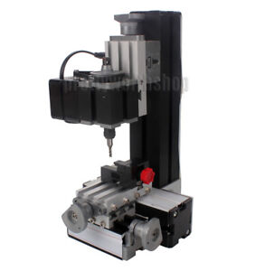Metal Mini Milling Machine Metalworking Diy Woodworking Power Tools Modelmaking
