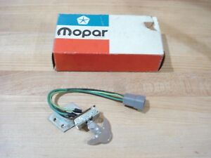 Nos Mopar 1968 72 Valiant dart duster 68 9 Barracuda Heater Blower Switch Nib