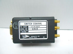 13 34 05621 Rf Switch 2mhz 80 Mhz 26 5 Volt Bn Connector New Old Stock