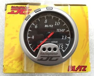 Jdm Blitz Racing Meter Dc Temp Temperature 19206 Black