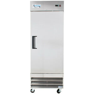 29 Stainless Steel 1 door Upright Commercial Kitchen Reach in Freezer