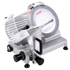 Professional Heavy Duty Commercial Meat Slicer Electric Deli Kitchen Industrial