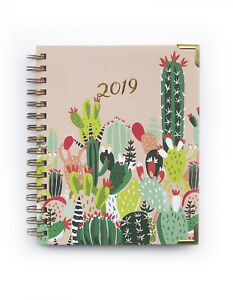 Idlewild Co 2019 12 month Planner Prickly Pear