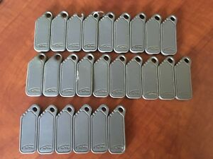 Kantech P40key Ioprox Key Tag Fob lot Of 25 Fobs