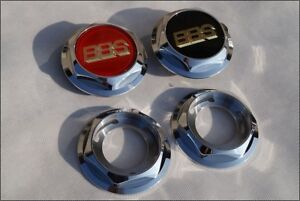 Bbs Rs Rf Rc 041 Hex Nuts Rc Center Caps 15 16 17 18 19 Inch Vw Bmw Style 5