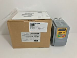 New Parker 0 75 Hp Variable Speed Ac Drive 10g 11 0035 bn See Pic 5 For Specs