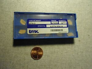 Tmx Gtn 2 Nc3030 Carbide Parting Grooving Inserts Lot Of 10