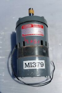Dayton 3m137b Shaded Pole Gear Motor 1 10 Hp 1 Phase
