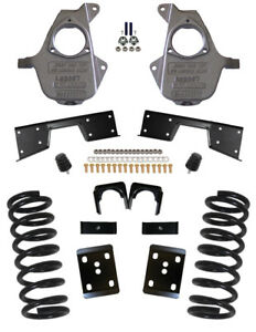 Mcgaughys Chevy Silverado 5 7 Lowering Kit 1999 2000 Single Cab 16 Rims 93027