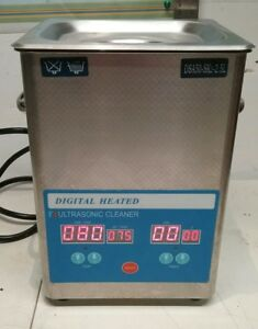 Dsa50 sk2 2 5l 40khz Digital Heated Industrial Ultrasonic Parts Cleaner