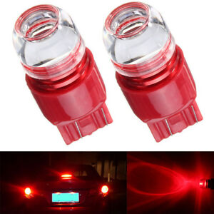 Red Strobe Blink 7440 7443 Turn Lights Reversing Tail Stop Brake Bulb Fits Acura
