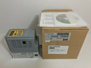 New Parker 0 75 Hp Variable Speed Drive 10g 31 0035 bn See Pic 4 For Specs