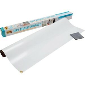 Post it Super Sticky Self stick Instant Dry Erase Film Surface Stain proof New