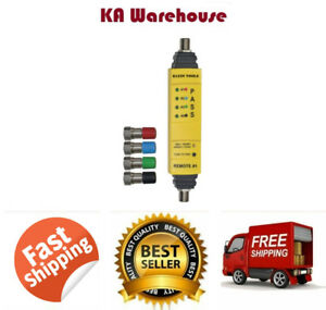 Coaxial Cable Tester Wire Tracer Coax Multi Line Color Coded Free Shipping New