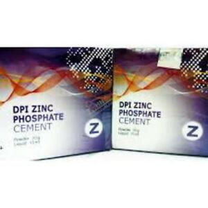 Zinc Phosphate Cement Permanent Tooth Filling Fixation Kit