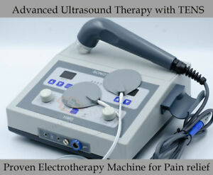 New 1 Mhz Ultrasonic Massage Tens Machine Ultrasound Therapy Pain Relief G4
