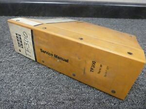 Case Tf300 Crawler Mounted Chain Trencher Shop Service Repair Manual 8 71221