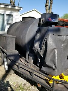 Asphalt Spray Sealcoating Machine Tank Trailer Ready To Work