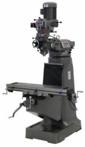 Jet 690095 Jtm 2 Mill With 3 axis Acu rite 200s Dro knee With X axis Powerfeed