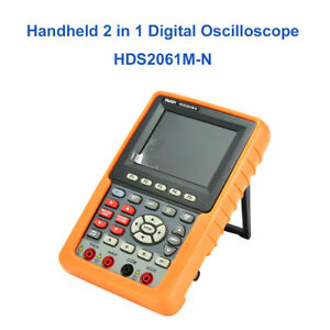 Handheld Hds2061m n 60mhz Digital Oscilloscope Auto scale Scpi Circuit Testing