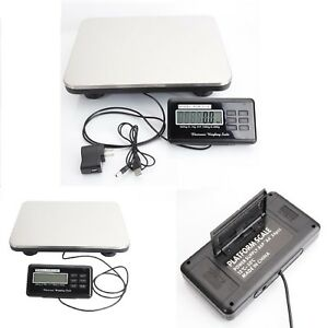 660lbs Weight Computing Digital Floor Platform Scale Postal Shipping Mailing 300