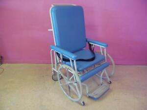 West 3 Stretchair Mc 4hd Patient Medical Transfer Transport Chair Bed Gurney