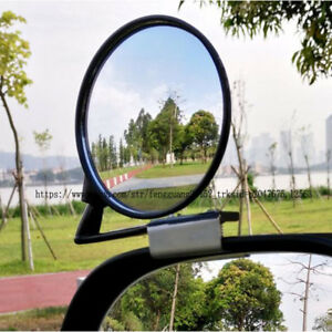 2pcs Wide Angle Side Rearview Blind Spot Mirror Coach Mirror Adjustable Angle