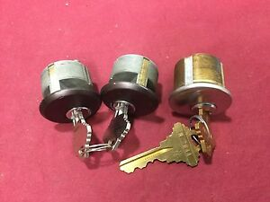 Unknown Brand Schlage Sc1 Keyway 1 Mortise Cylinders Set Of 3 Locksmith