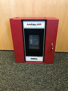 Ansul Autopulse 442r Agent Release Control System Alarm Panel Used Working