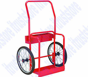Welding Welder Gas Cart Oxy Acetylene Cylinder Tank Holding Hand Truck Dolly