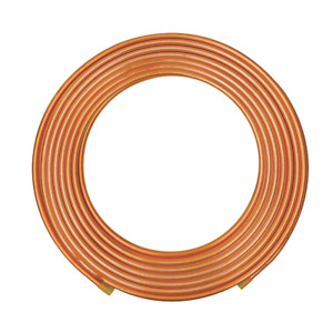 Mueller Industries 100 Ft Soft Coil Copper Tubing 3 8 Outside Dia Ls02100