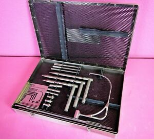 Stryker 170 47 Nisonson Orthopedic Wire Drill Guide System Surgical Set