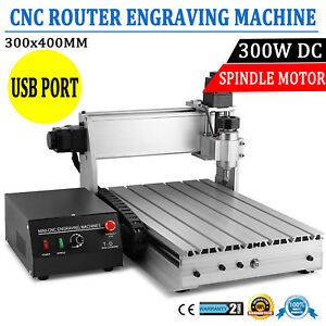 Cnc Router 3040 Diy 3 axis Engraver Engraving Milling Machine Desktop