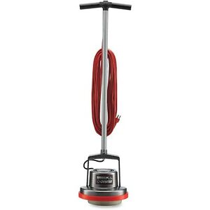 Oreck Orbiter Commercial Floor Machine Silver Dry Cleans Carpet Polished Office