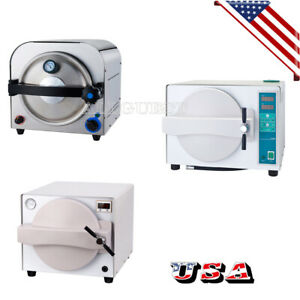 Dental Lab Equipment Autoclave Steam Sterilizer Medical Sterilization 14l 18l