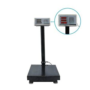 Digital Floor Platform Scale 600 Capacity Industrial Shipping Price Computing Hq