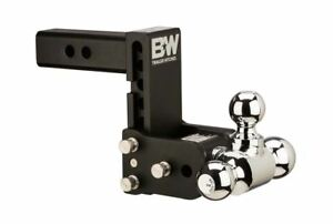 B W Tow And Stow Hitch Ball Mount 2 5 Shank Tri Ball Ts20049b