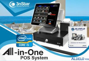 3nstar Pos System I5 4gb 120gb Ssd Restaurant Bakery Bar With Aldelo pro New