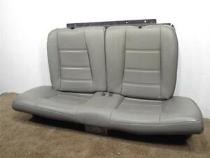 Coupe Ford Mustang Gt Gray Leather Rear Seat 1999 2000 2001 2002 2003 2004