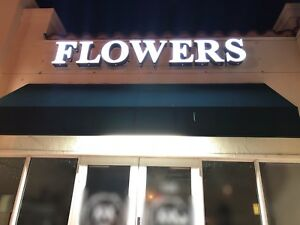 Led Sign Flowers Flowers