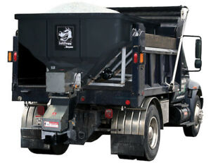 Buyers Products Saltdogg Electric Poly Hopper Spreader With Auger Shpe4000