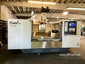 2007 Fadal Vmc 6030 Ht Cnc Machining Center V300 4th Axis Table Rigid Taping