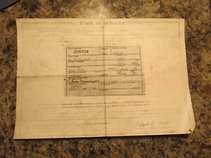 1938 Ford Ch Vintage Car Historical Memorabilla Document